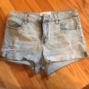 PacSun Light Denim Shorts